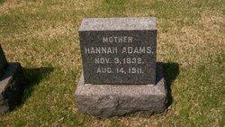 Hannah <I>Forney</I> Adams