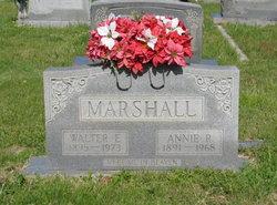 Millie Annie <I>Rumley</I> Marshall