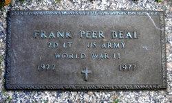 Lieut Frank Peer Beal