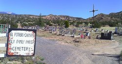 El Potrero de Chimayo Holy Family Parish Cemetery