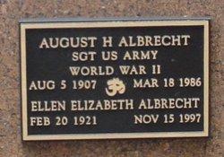 August H Albrecht