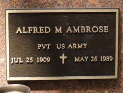 Alfred M Ambrose