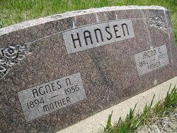 Agnes N <I>Petersen</I> Hansen