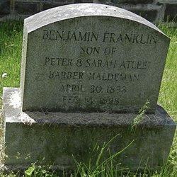 Benjamin Franklin Haldeman