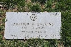 Arthur M Gaskins