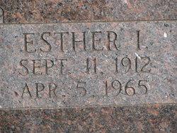 Esther I <I>Finney</I> Kethcart