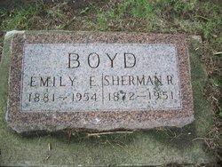 "Emily E. ""Tuff"" <I>Louthan</I> Boyd"