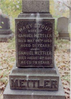 Mary Josephine <I>Stout</I> Mettler