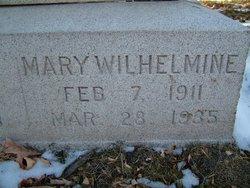 Mary Wilhelmina Meinholtz