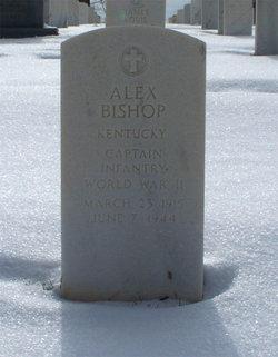 Capt Alex Bishop