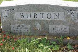 Edith <I>Johnson</I> Burton