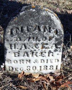 Infant daughter Baker
