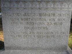 "Sarah W. ""Sally"" <I>Worthington</I> Ames"