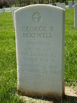Corp George B Bertwell
