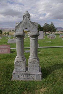 Mary Ann <I>Clark</I> Adams