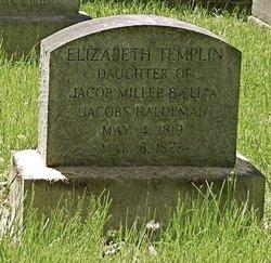 Elizabeth Templin Haldeman