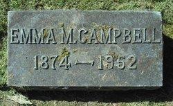 Emma Mary <I>Wood</I> Campbell