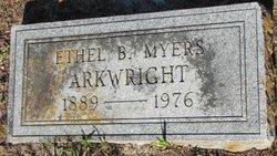 Ethel Bertha <I>Davidson</I> Myers Arkwright