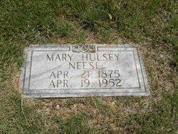 Mary Deliah <I>Hulsey</I> Neese