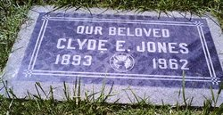 Clyde Edward Jones