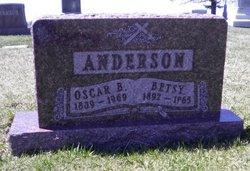 Oscar B Anderson