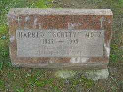 """Harold """"Scotty"""" Motz"""