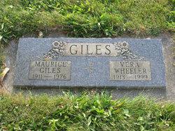 Vera <I>Wheeler</I> Giles