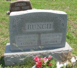 Florence Henrietta <I>Holder</I> Bunch