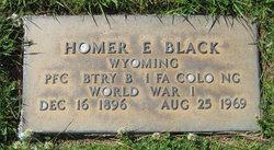 PFC Homer Eugene Black