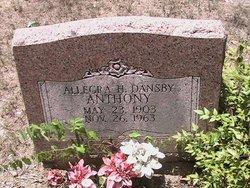Allegra H <I>Dansby</I> Anthony