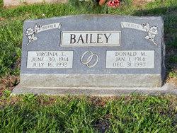 Virginia E <I>Schofield</I> Bailey
