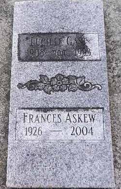 Frances <I>Gast</I> Askew