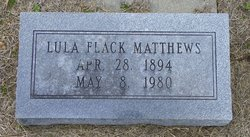 Lula <I>Stickney</I> Matthews