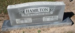 Johnnie Mae <I>Allee</I> Hamilton