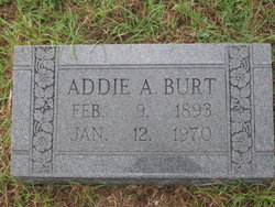 Addie Agnes <I>Terral</I> Burt