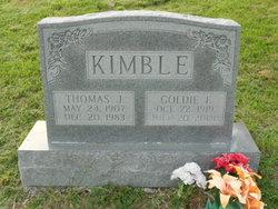 Goldie Frances <I>Bean</I> Kimble
