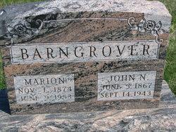 Marion <I>Johns</I> Barngrover