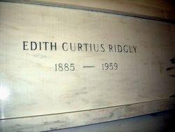 Edith Loei <I>Curtius</I> Ridgly