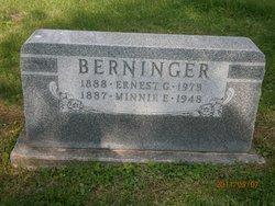 Minnie E <I>Ganning</I> Berninger