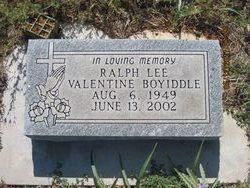 Ralph Lee Valentine Boyiddle