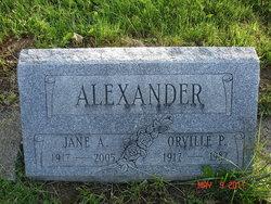 Jane <I>Andrews</I> Alexander