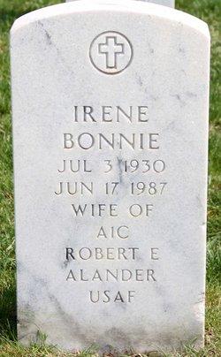 """Irene E. """"Bonnie"""" <I>Gibis</I> Alander"""