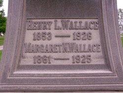 Margaret Vance <I>Noble</I> Wallace