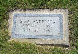 Sina <I>Shelby</I> Anderson