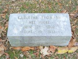 Carolina <I>Vogel</I> Thomann