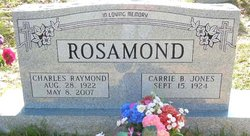 Charles Raymond Rosamond, Sr