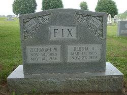 "Zechariah Walker ""Zack"" Fix"