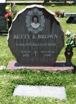 Betty Mary <I>Johnston</I> Brown