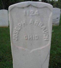 Pvt Jonas Joseph Arbaugh