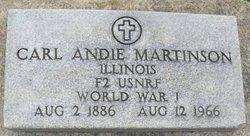 Carl Andie Martinson